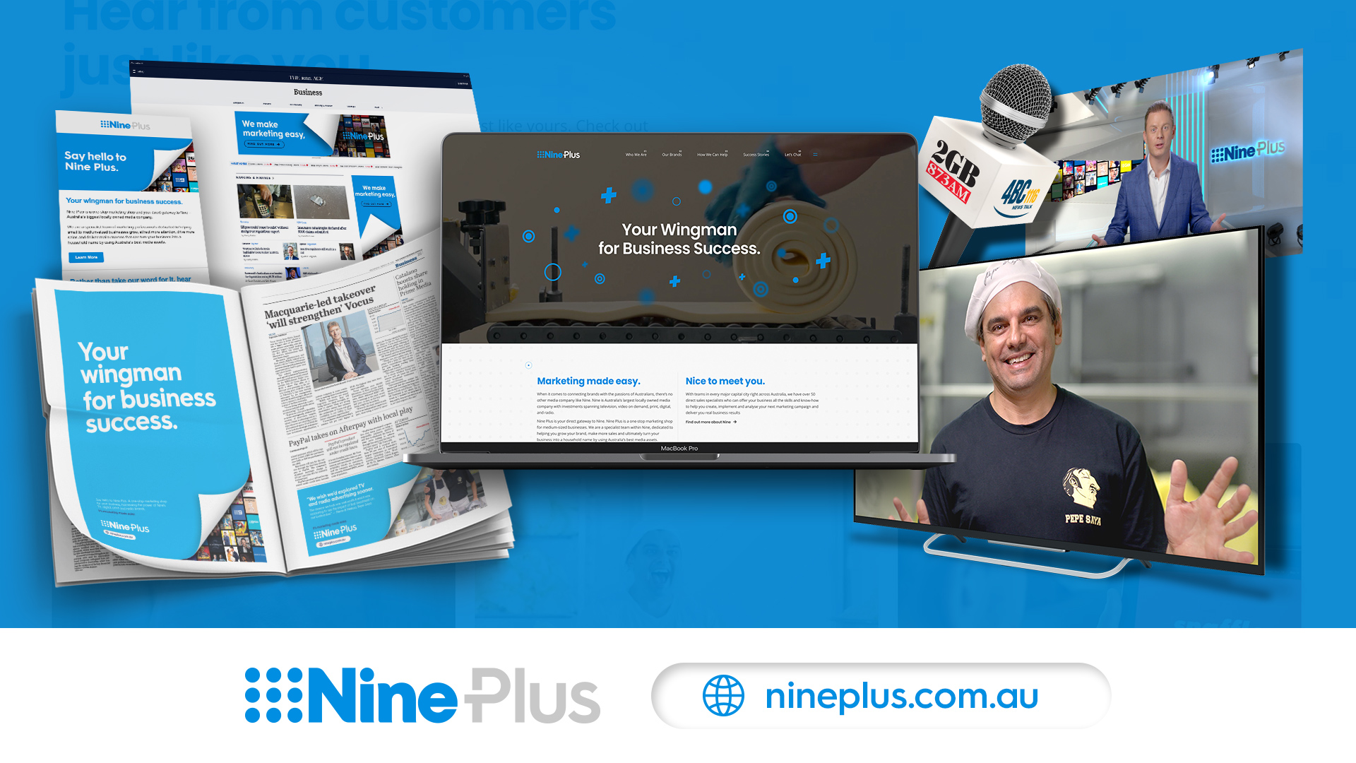 Nine targets SME sector with Ad Campaign for Nine Plus